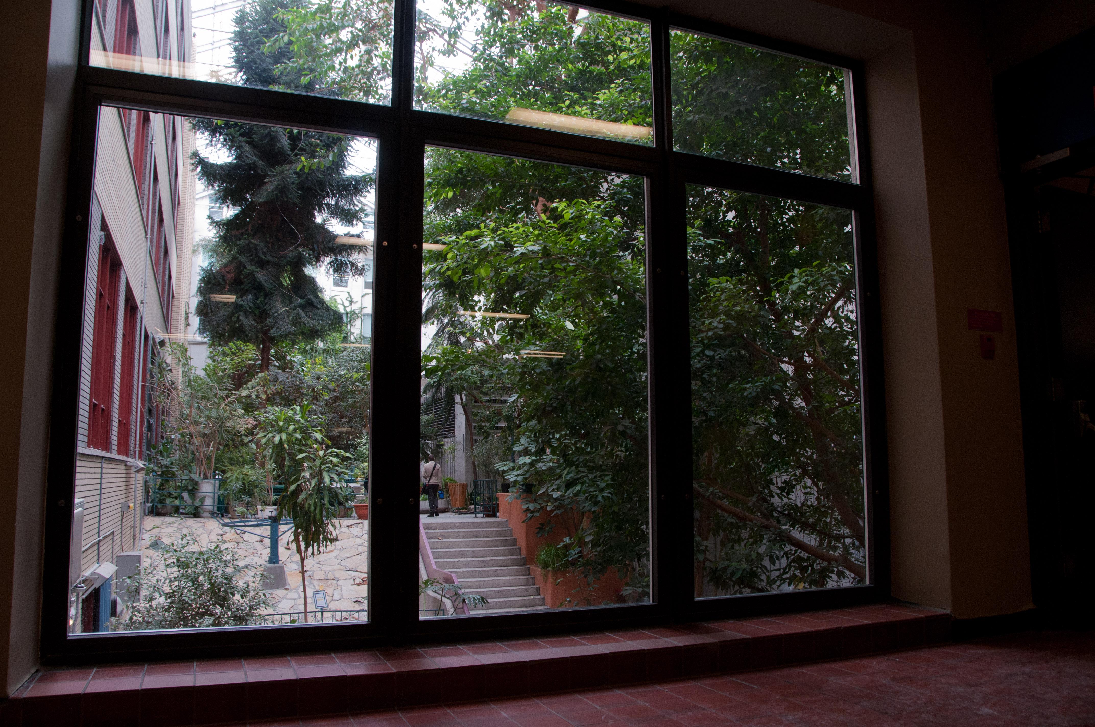 Jardin intérieur | Salle multifonction en location au Collège de ...